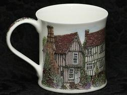 DUNOON COUNTRY COTTAGES Fine Bone China WESSEX Mug #1