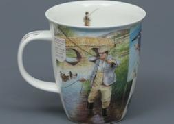 DUNOON FISHING Fine Bone China NEVIS Mug #1A