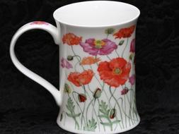 DUNOON POPPIES Fine Bone China COTSWOLD Mug #1B