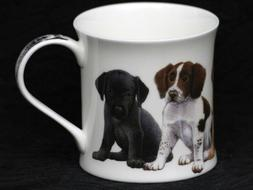 DUNOON PUPPIES Fine Bone China WESSEX Mug #1B