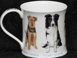 DUNOON SHOW DOGS Fine Bone China WESSEX Mug #1B