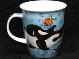 DUNOON WHALES Fine Bone China NEVIS Mug