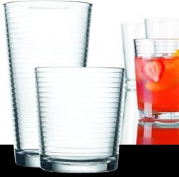 Set of 16 Durable Solar Drinking Glasses Includes 8 Cooler G