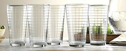 Set of 10 Durable Window Drinking Glasses Includes 10 Cooler