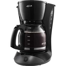 Mr. Coffee DW13-NP 12 Cup Coffee Maker- Black