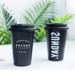 Eco-Friendly Reusable Ceramic Travel <font><b>Mugs</b></font