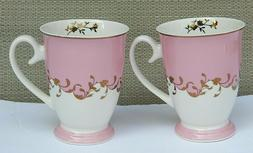 EILEEN'S RESERVE by NEW ANCHOR BONE CHINA SET OF 2 COFFEE TE