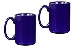 El Grande Style Large Ceramic Coffee Mug With Big Handle, Co