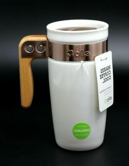 Ello Ogden BPA-Free Ceramic Travel Mug with Lid 2pk