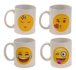 Emoji Universe: WAKE UP! Emoji Coffee Cups, ; Choice of Styl