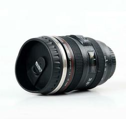 Durable Emulation Camera Lens Travel Mug for Coffee, Tea, or