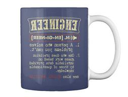 Engineer Funny Dictionary - Gift Coffee Mug