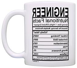 Engineering Gifts Engineer Nutritional Facts Label Science M