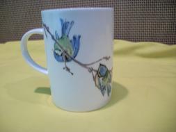 Roy Kirkham England Fine Bone China Garden Birds Coffee Tea