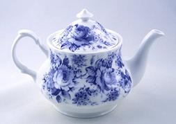 Fine English Bone China Teapot - Roy Kirkham, England - Engl