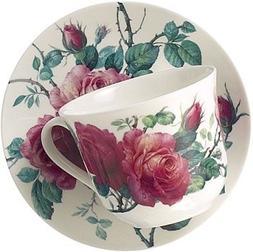 Roy Kirkham English Rose Jumbo Breakfast Cup & Saucer Set
