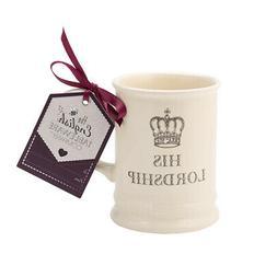 English Tableware Co. Majestic Mug, His Lordship Fun Slogan