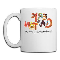 Eric Clapton Guitarist Rush Slowhand Espresso Tea Mugs Porce