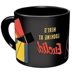 Euclid Coffee Mug - Images of Euclid's Most Famous Theorems