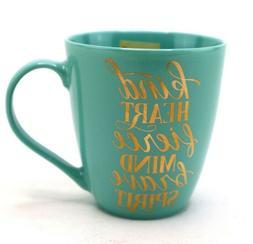 Pfaltzgraff Everyday Large Coffee Mug 'Kind Heart Fierce Min