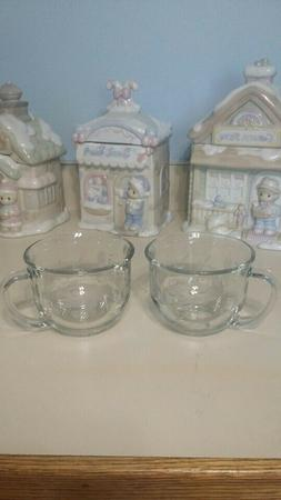 Princess House Exclusive Heritage Crystal Coffee Soup  Cup M