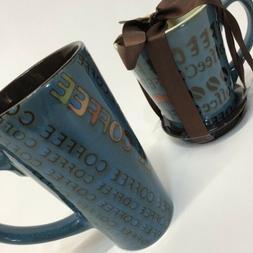Extra Large Jumbo Coffee Mug/Cup Set Of 2  18oz Oversized Te