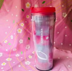 F/S Starbucks JAPAN plastic tumbler 2017 SAKURA Cherry bloss