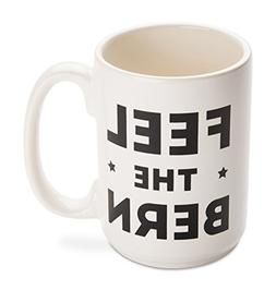 Mugs Funny Feel the Bern, Enough is Enough 14 oz Ceramic Cof