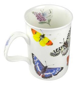 Roy Kirkham Fine Bone China Butterfly Garden Coffee or Tea M