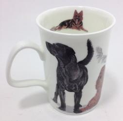 Roy Kirkham Fine Bone China Lancaster Mug Dogs Galore #4