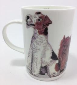 Roy Kirkham Fine Bone China Lyric Mug Dogs Galore