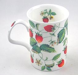 Roy Kirkham Fine Bone China Mug Alpine Strawberry