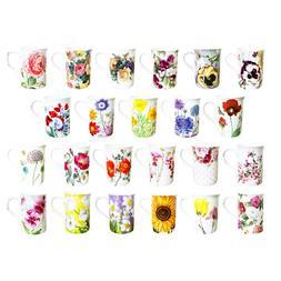 Floral Coffee Mug Stechcol Gracie Bone China 10 oz Easter Bu