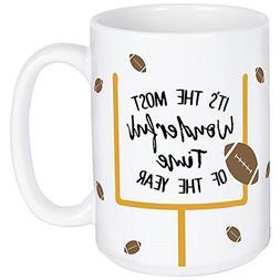 Carson Football Boxed Mug