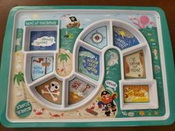 Fred and Friends PIRATES Dinner Winner Kids PLATE Board Game