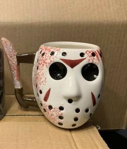 Friday The 13th Jason Voorhees 3D Coffee Mug Horror Glasswar