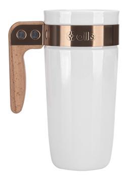 Ello Fulton BPA-Free Ceramic Travel Mug with Lid, 16 oz.