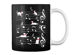 Fun Cat Music Gift Coffee Mug Gift Coffee Mug