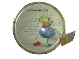 4 Pack of Fun Plates by Great Gatherings, 7.87 inch plates,