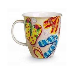 Funky Flip Flops Coffee or Tea Ceramic Mug, Dishwasher and M