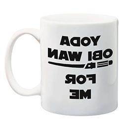 Funny 11oz Coffee or Tea Mugs - YODA OBI WAN For Me by Eitly