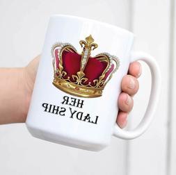 Funny Mugs Her Ladyship Novelty Coffee Mug