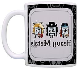 Funny Science Gifts Heavy Metals Periodic Table Gift Coffee