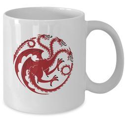 Game of Thrones coffee mug - House Targaryen Sigil symbol Kh