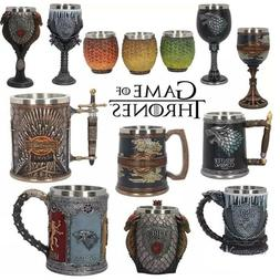 Game of Thrones Coffee Mugs Stainless Steel Resin Cups Creat