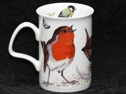 ROY KIRKHAM GARDEN BIRDS Fine Bone China LANCASTER Mug #2a
