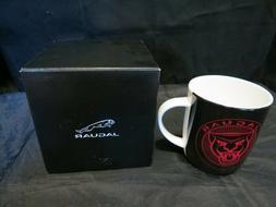 Genuine Jaguar Growler Graphic Coffee/Tea Mug, Black. Microw