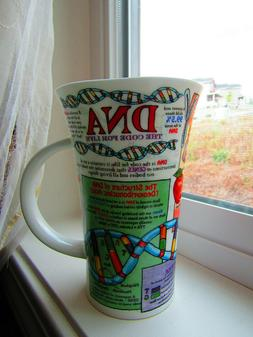 "Dunoon Glencoe ""DNA"" fine bone china cup / mug. New. Made in"