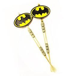 Set of 2 Golden Batman Dark Knight Dab Tool Set Scrape Stain