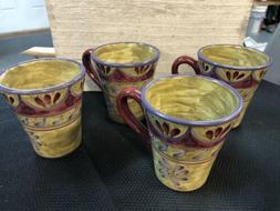 Gorgeous Coffee Mug Set Set of 4 Large Ceramic Coffee Mug